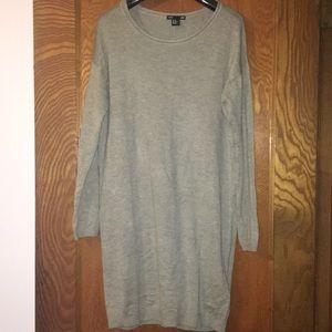 3/4 Sleeve Sweater Dress